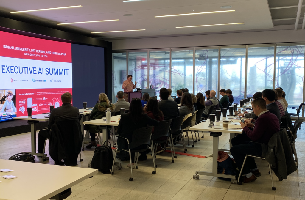 IU Vice President for Research, Fred Cate, kicks off summit and discusses AI ethics and regulation.