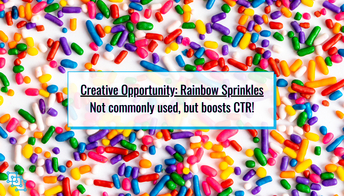 how doo sprinkles perform for creative in advertising?